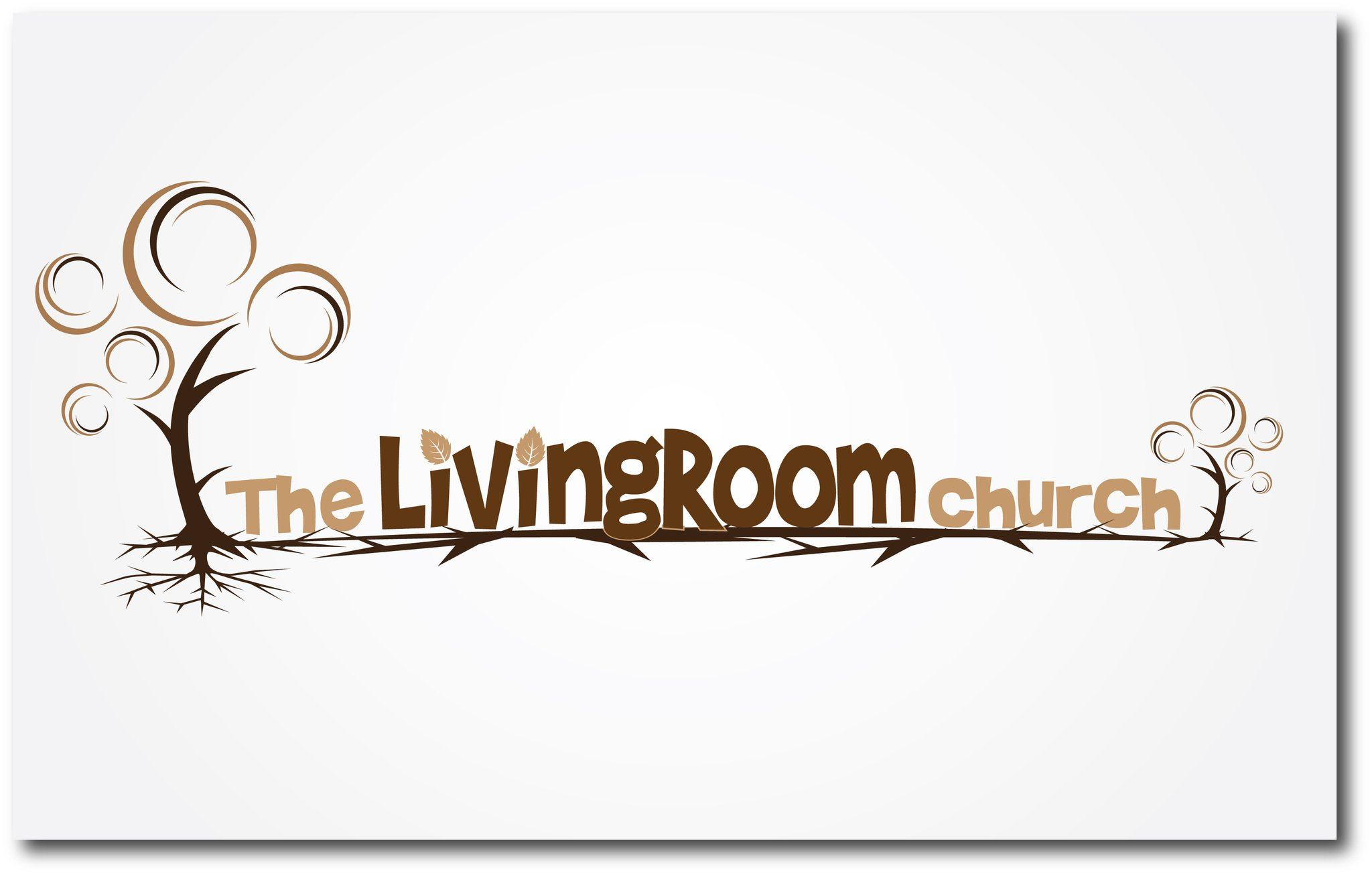 The Living Room Church church logo design: the livingroom church | foi designs