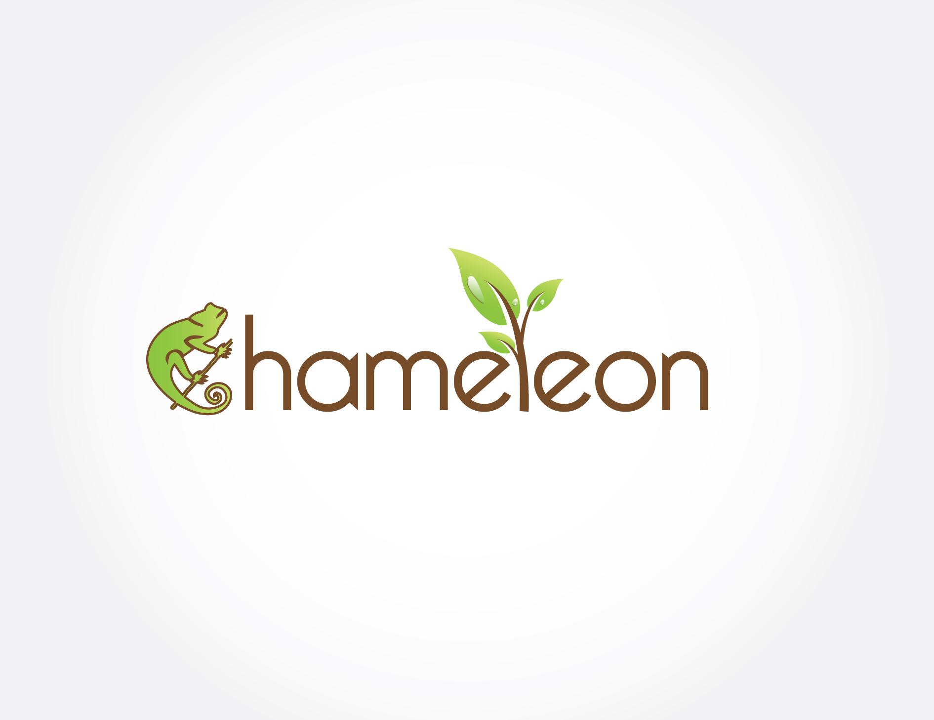 Хамелеон в дизайне