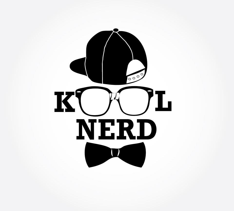 Branding logo design kool nerd foi designs for Logo t shirts for business