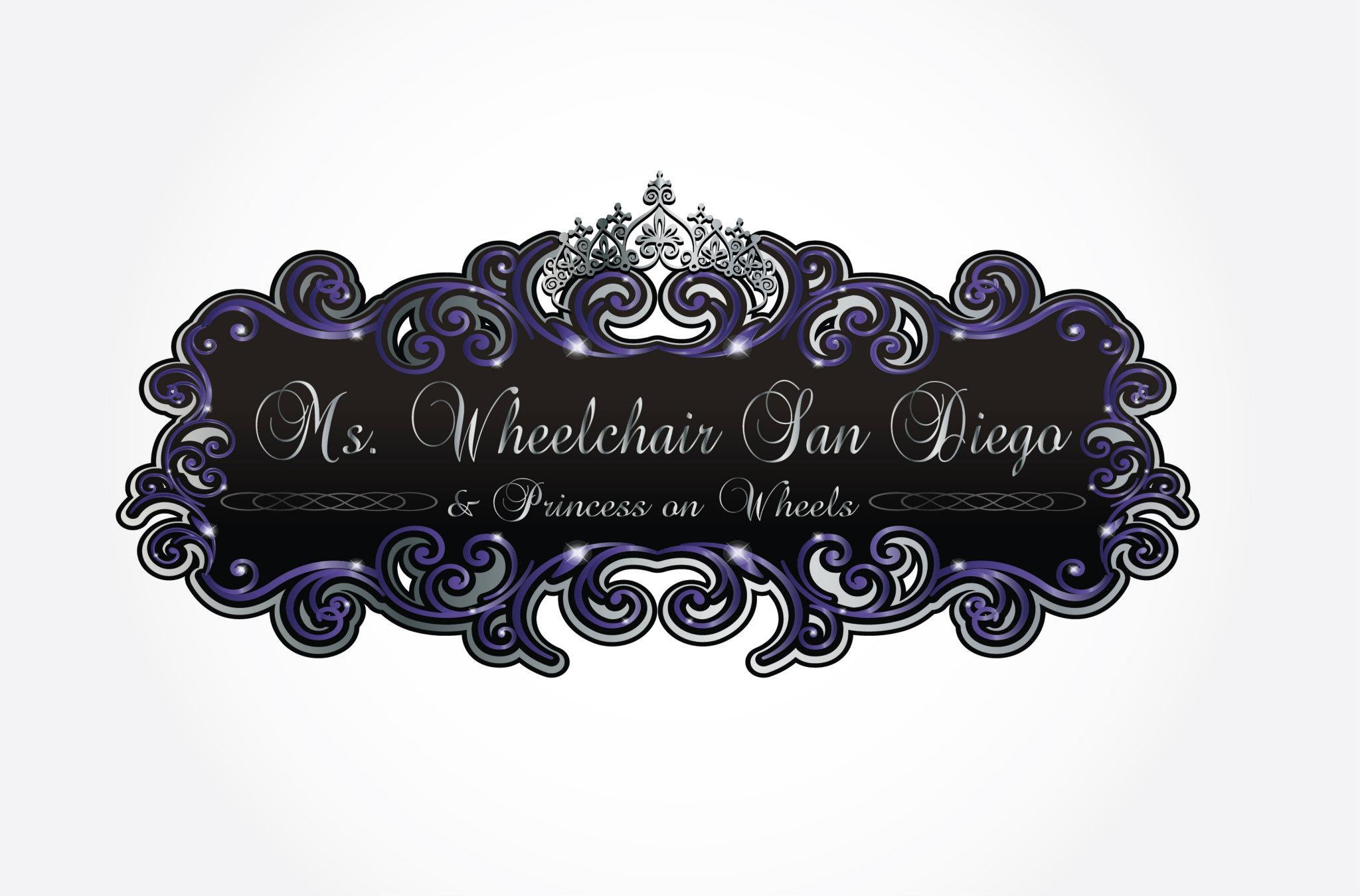 branding logo design ms wheelchair san go princess on