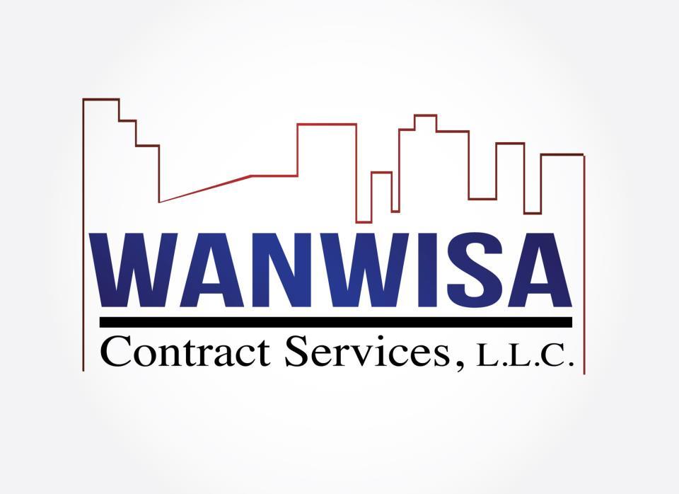 Branding Logo Design: Wanwisa Contract Services LLC : Foi Designs