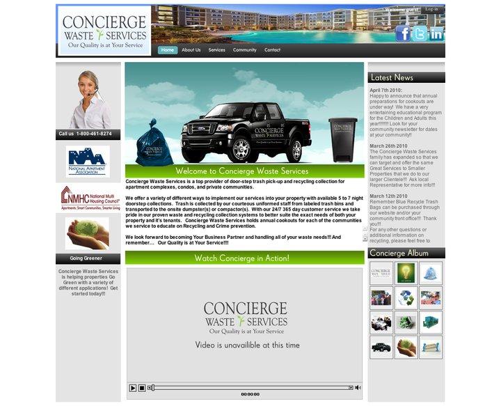 Foi designs concierge waste management cowaste web for Household waste design