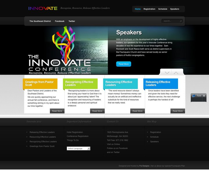 innovative web design
