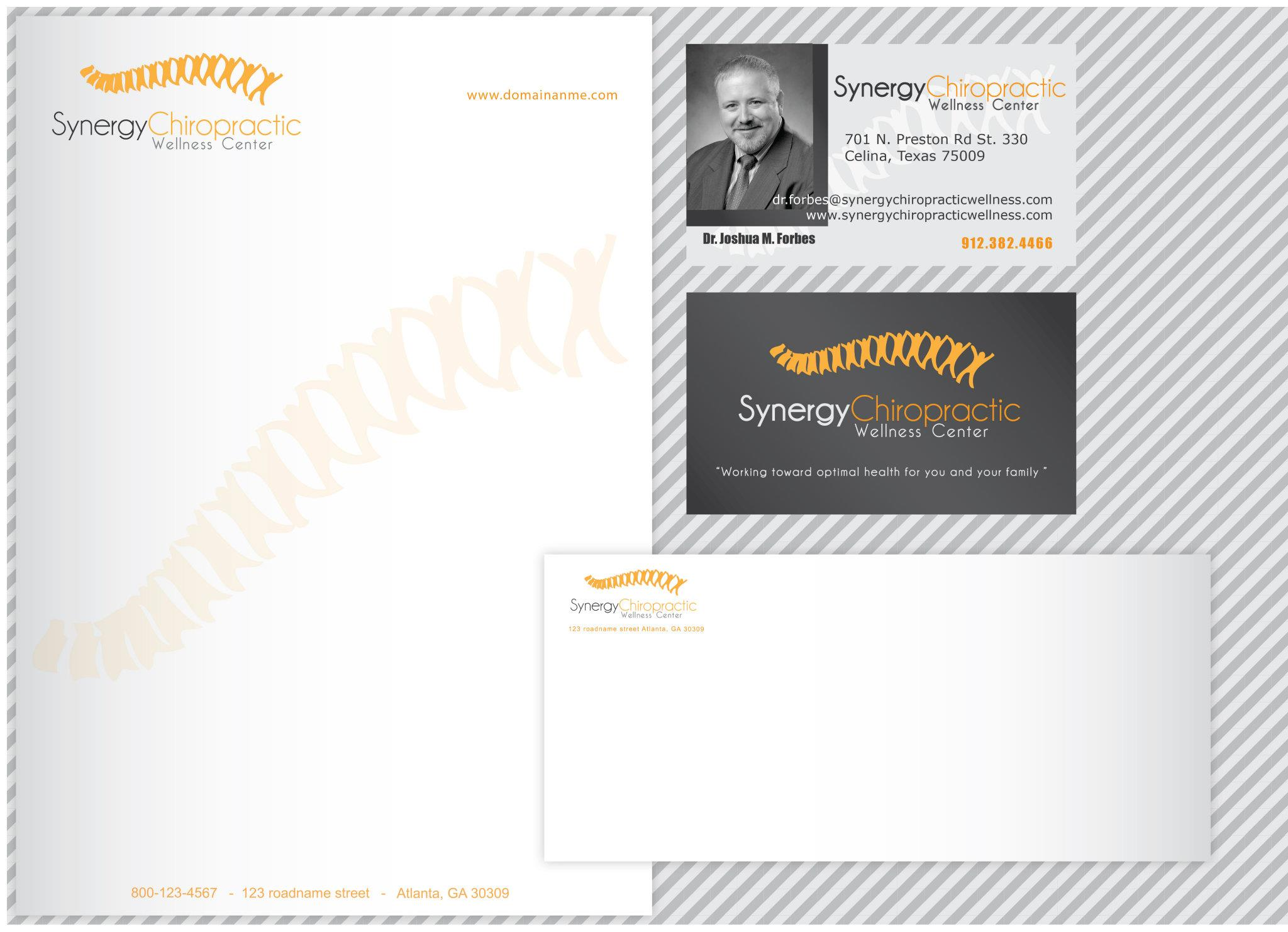 Synergy Chiropractic Wellness Center – Stationery and Business Card ...