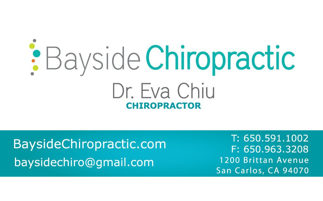 Bayside Chiropractic – Business Card Design | Foi Designs